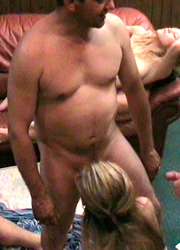 Real swinging couples having fun in private party in California Image 6