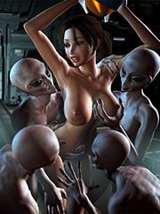 fuckfull 3D monsters
