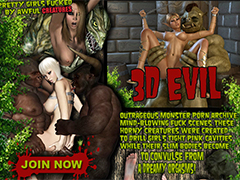 Monsters fucking 3D chicks