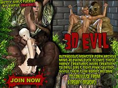 Monsters fucking 3D chicks