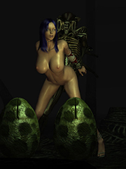 3D monster sex comics