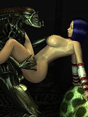 3D monster sex comics