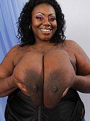 beautiful black tits