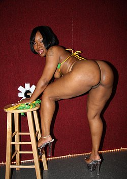 ebony ass
