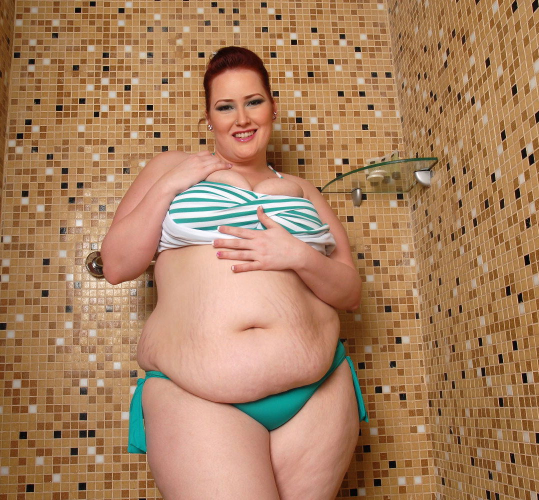Fat swimsuit girl nailed