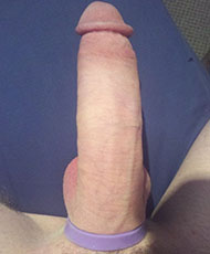 Oversize cock