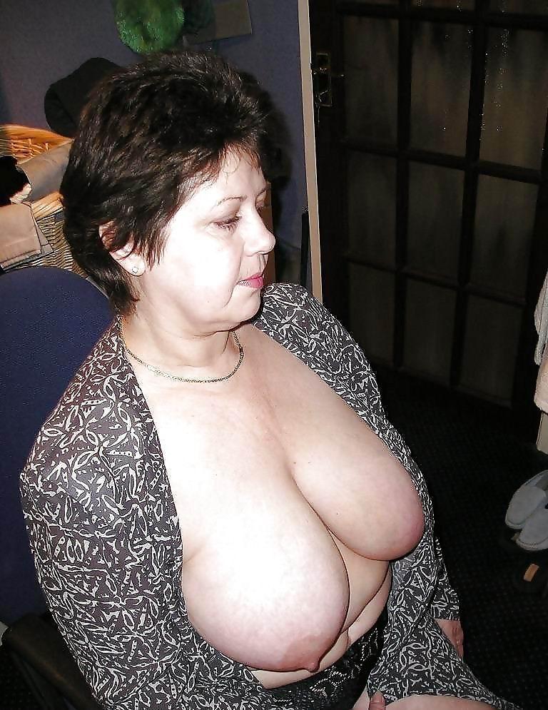 Grandma big tits