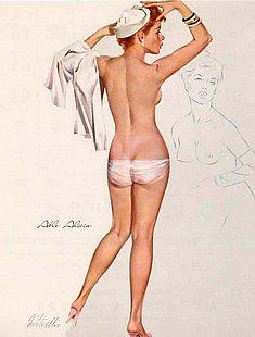 Online Retro Erotic Art Pictures