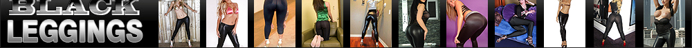 sexy black tight leggings