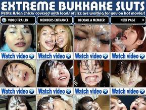 Extreme Bukkake Sluts