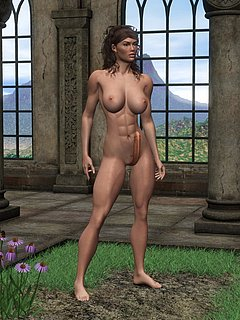 3D Futanari Sample 5
