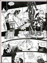 BDSM comics `Stiletto`