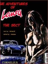 BDSM comics `The Adventures Of Laura`