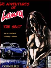BDSM comics `The Adventures Of Laura`