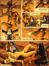 BDSM comics `Convent Of Hell`