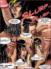BDSM comics `My best student`, part 1