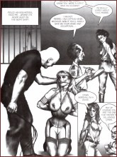 BDSM comics `Dawn Of The Jungle`