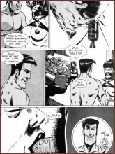 BDSM comics `Lord Farris, Slavemaster`, part 1