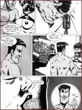 BDSM comics `Lord Farris, Slavemaster`, part 1