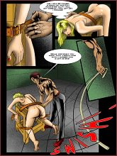 BDSM comics `A new secretary`, part 1