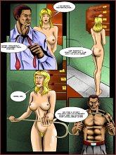 BDSM comics `A new secretary`, part 1