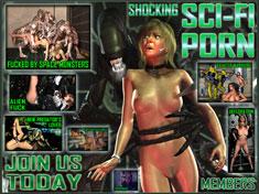 Shocking Sci-Fi Porn