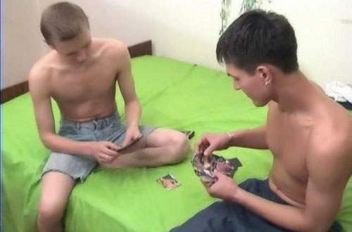 Young russian teen boys love sex and they want to share with you their homemade videos!
