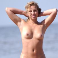 exposing at nude beach
