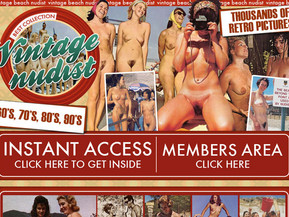 Vintage beach nudist - is a website that contains all of the classic porn nudist photography, and other antique erotica. If you�ve got a vintage nudist fetish for the classic cheesecake photography and artwork from yesteryear, then you�ll love the photo archives found on this site