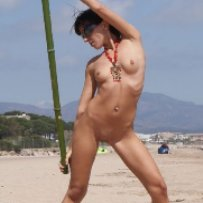 You�ll want to lick the screen when you see these naked sunburned pussies