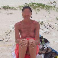 Anonymous beach exhibitionist community
