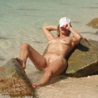 Hot and horny amateur women deeply desire to get photographed naked at beach