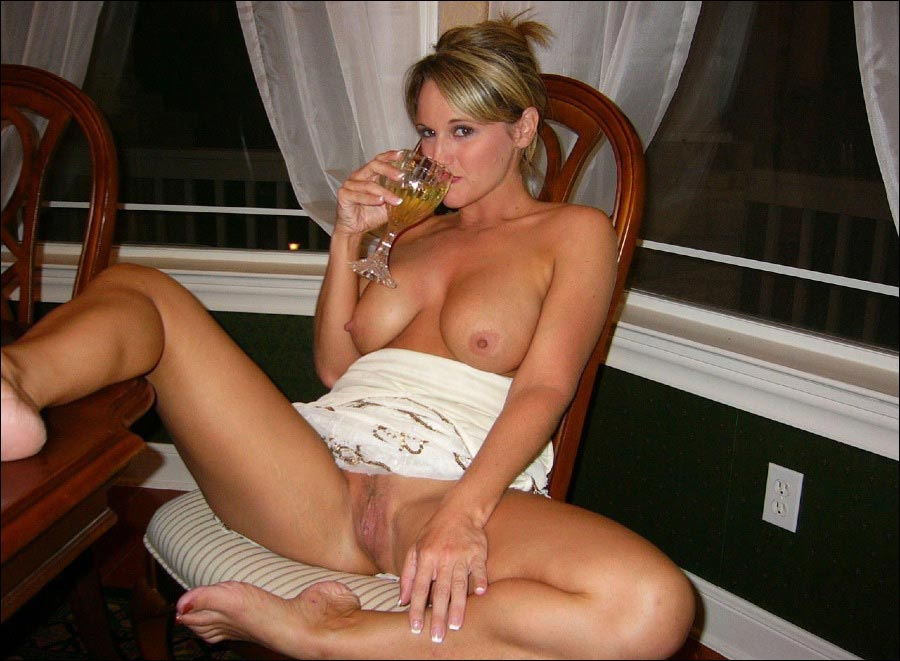 Drunk busty wives