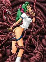 hentai tentacle fucking