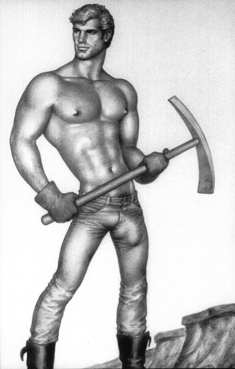 Gallery fisting tom finland adult