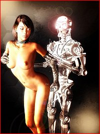 sample from .: Banged by Robots :. xxx site