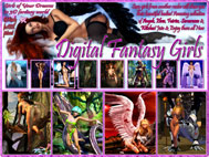 Digital Fantasy Girls