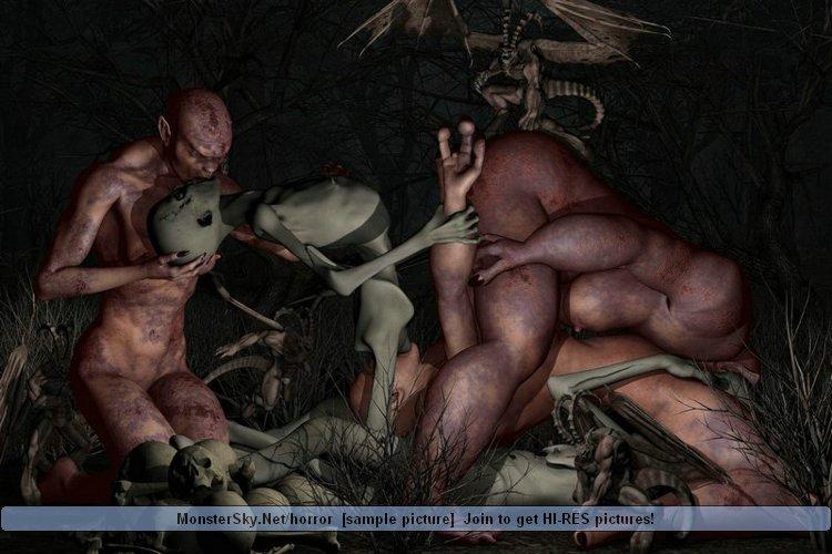 Страшылки порно