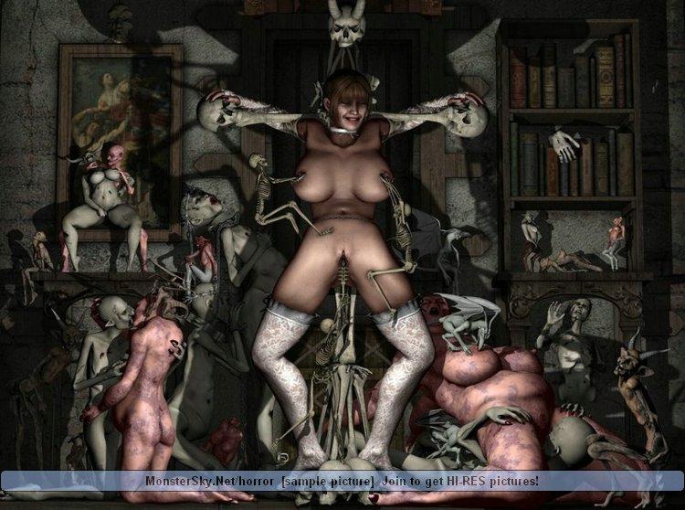 Порно Картинки Где Черт Трахает Женщину