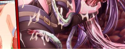 tentacle bondage hentai