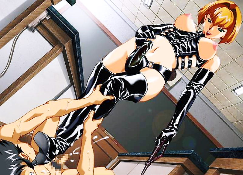 hentai strapon femdom