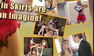 hours of rare tranny cheerleaders videos!