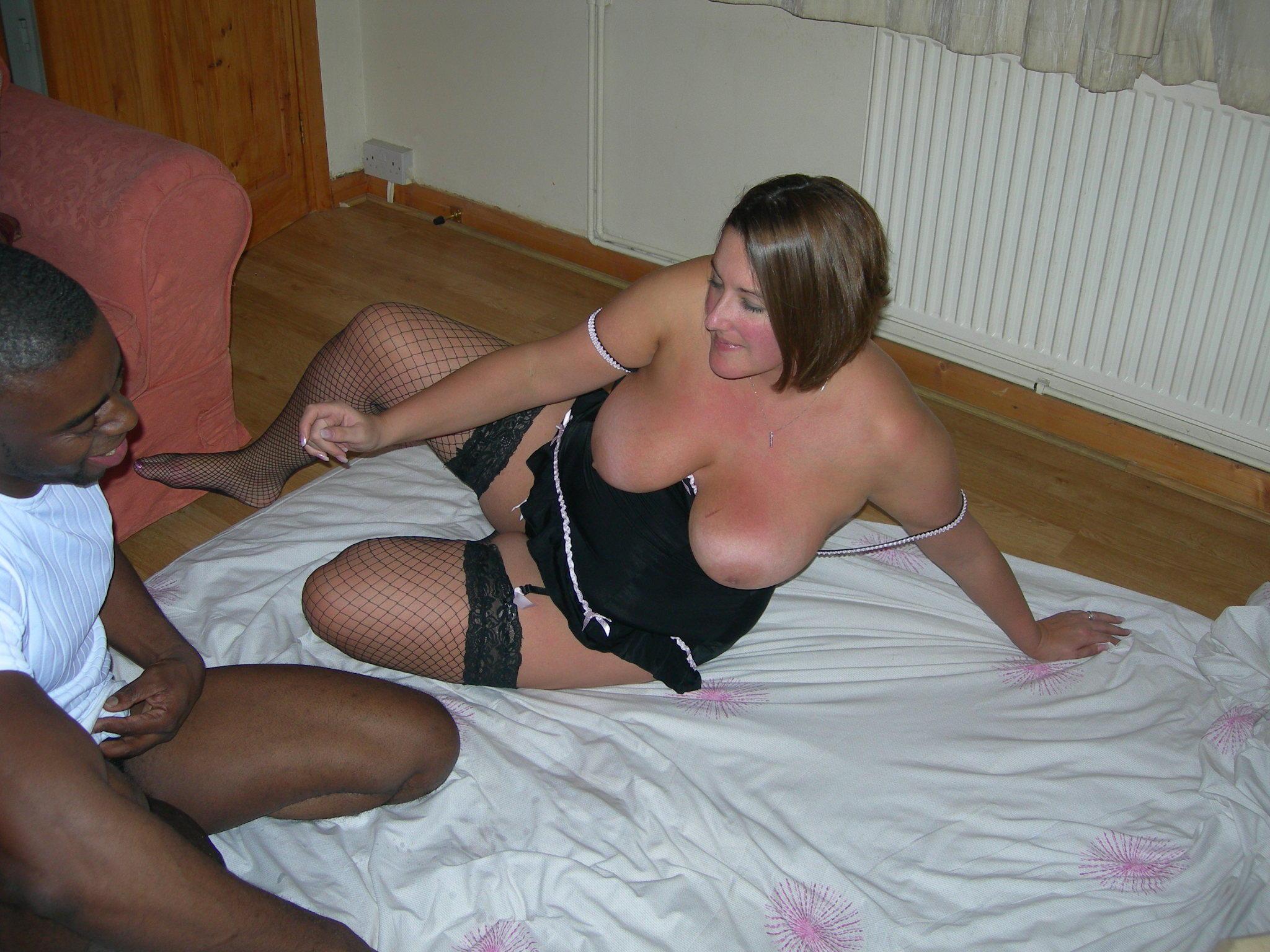 Bra panty bbw pantyhose cleavage