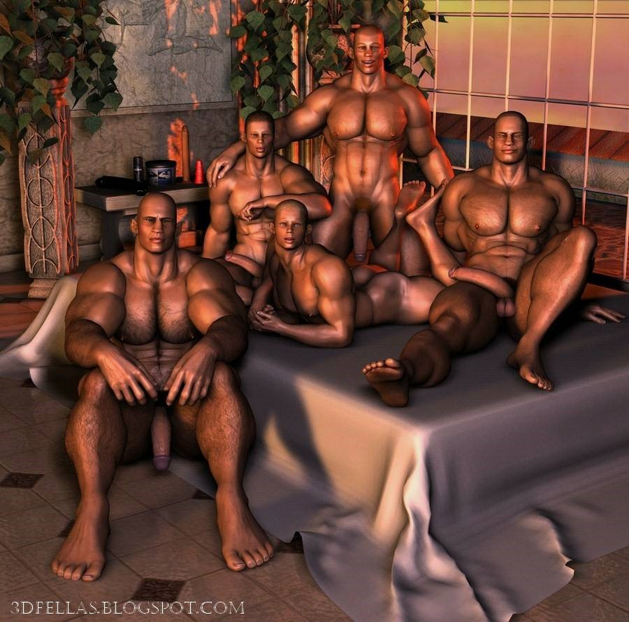 3d gay art - exclusive collection of 3d gay pictures!