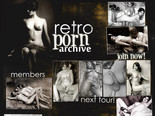 retro and vintage porn