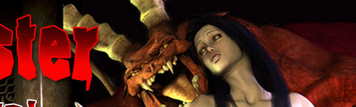 Monster porn captivity