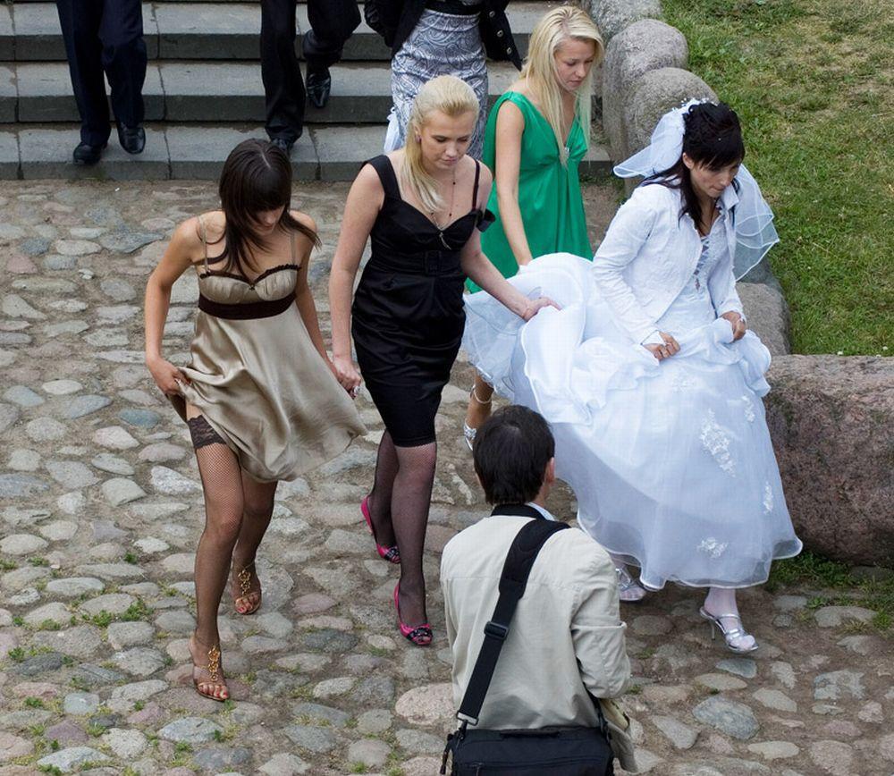 Подсмотренное на свадьбе видео