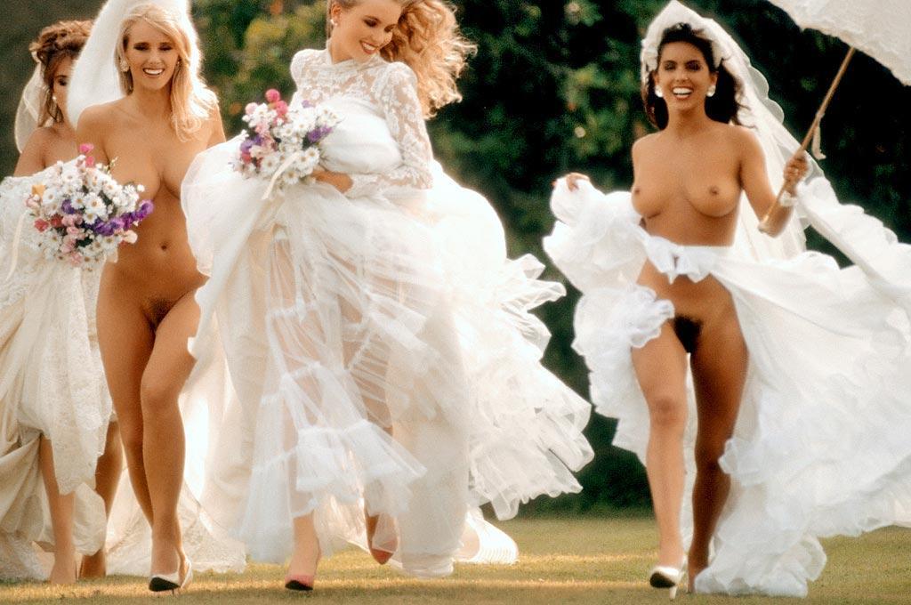 Телки голые на свадьбе