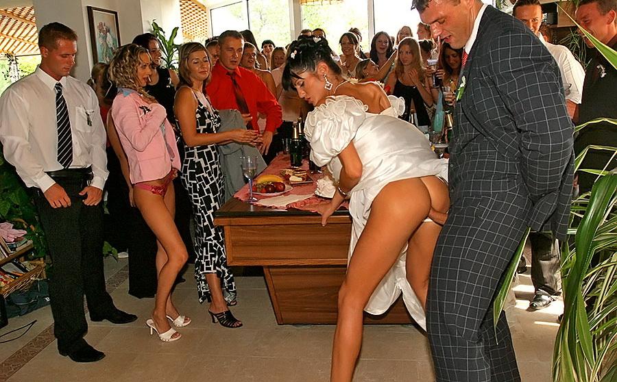 русские порно ролики на свадьбах и вечеринках тоже