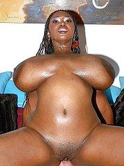 busty black girl